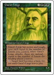 Gaea's Liege 4E