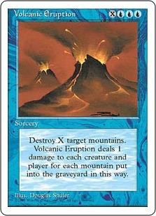 Volcanic Eruption 4E
