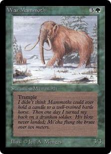 War Mammoth 2E