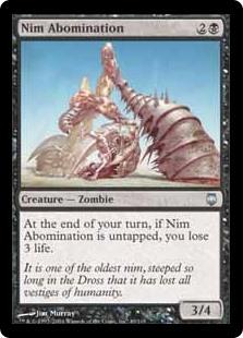 Nim Abomination DST