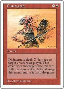 Disintegrate 5E