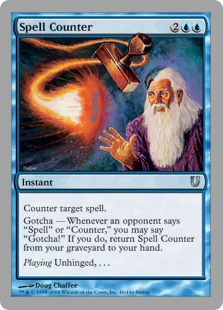 Spell Counter UNH