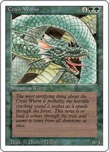 Craw Wurm 3E