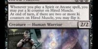 Hired Muscle // Scarmaker
