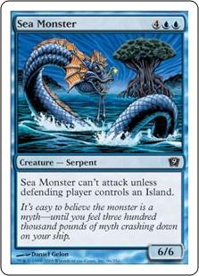 Sea Monster 9ED