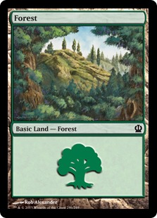 Forest (Theros, 246)