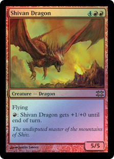 Shivan Dragon DRB