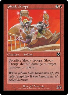 Shock Troops MM