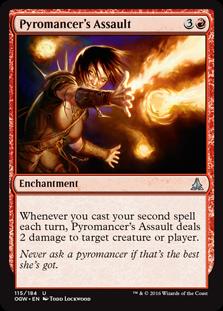 Pyromancer's Assault OGW