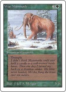 War Mammoth 2U