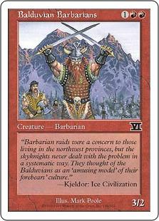 Balduvian Barbarians 6E