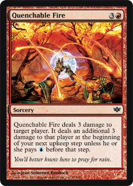 Quenchablefire