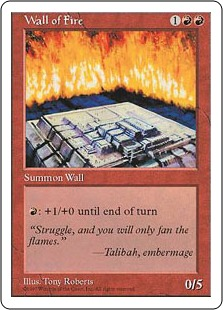 Wall of Fire 5E