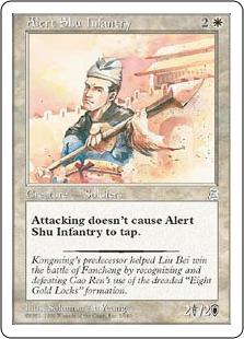 Alert Shu Infantry P3K