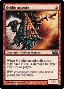 Goblin Arsonist M12