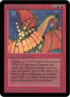 Shivan Dragon 1E