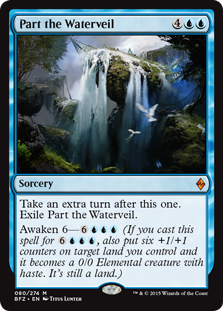 Part the Waterveil BFZ