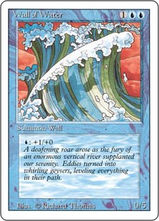 Wall of Water 3E