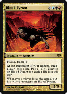 Blood Tyrant CON