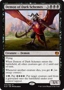 Demon of Dark Schemes KLD