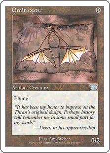Ornithopter 6ED