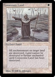 Consecrate Land LEB