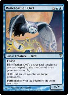 Rimefeather Owl CSP