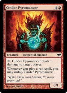 Cinder Pyromancer EVE