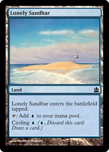 Lonely Sandbar CMD