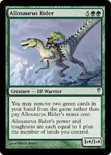 Allosaurus Rider CSP