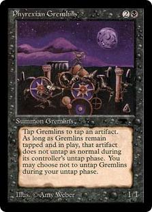 Phyrexian Gremlins AQ