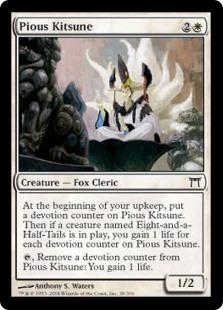 Pious Kitsune CHK