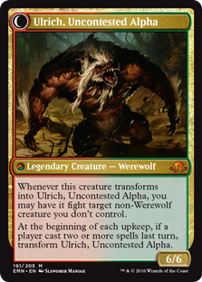 Ulrich, Uncontested Alpha EMN