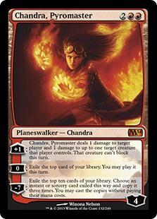 Chandra, Pyromaster M14