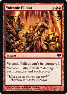Volcanic Fallout CON