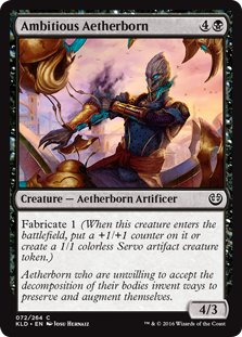 Ambitious Aetherborn KLD