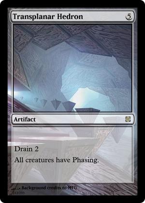 Transplanar Hedron