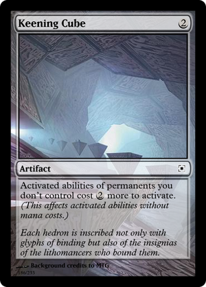 Keening Cube
