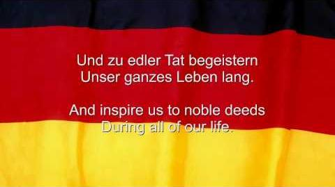 Das Deutschlandlied - Germany National Anthem (English and German lyrics)-0