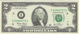 Jefferson on cash $