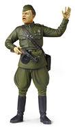 Ultranationalist soldier figure