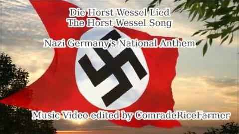 Horst Wessel Lied - Nazi Germany Third Reich National Anthem