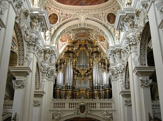 File:Church pipe organ St Stephen s Cathedral of Passau Germany..jpg
