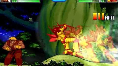 Dragon Claw vs Evil Ken