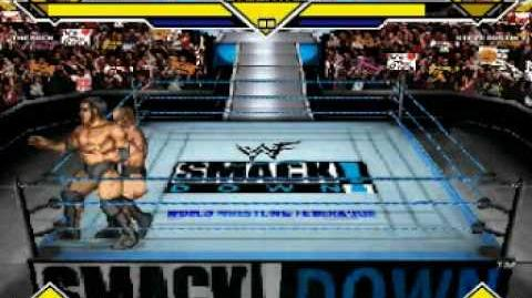 MUGEN WWF Smackdown - The Rock Vs Stone Cold