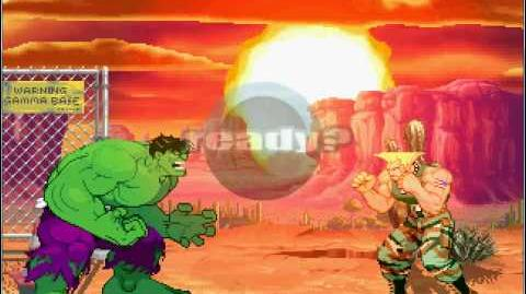 Mugen 35 Savage Hulk vs the Special Forces