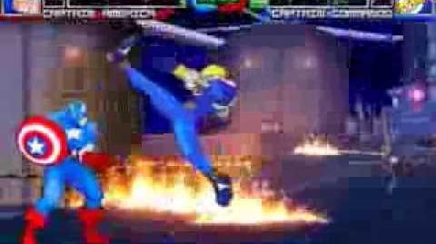 MUGEN Captain my Captain - Captain America vs Captain Commando