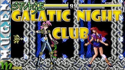 Mugen Stage 81 - Galatic Night Club
