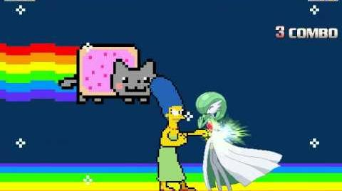 MUGEN Episode 66 Gardevoir vs Marge Simpson (Mother's Day Special!)