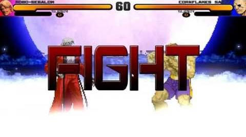 HD MUGEN Battles Episode 14 - Robo-Segalow vs